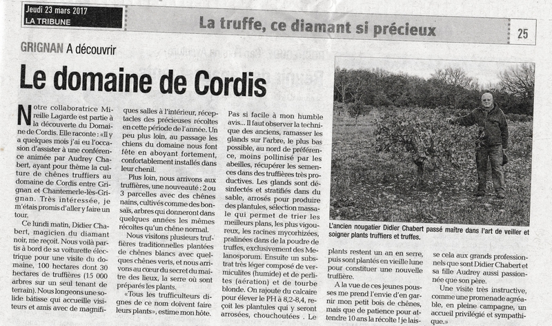 Article cordis mail